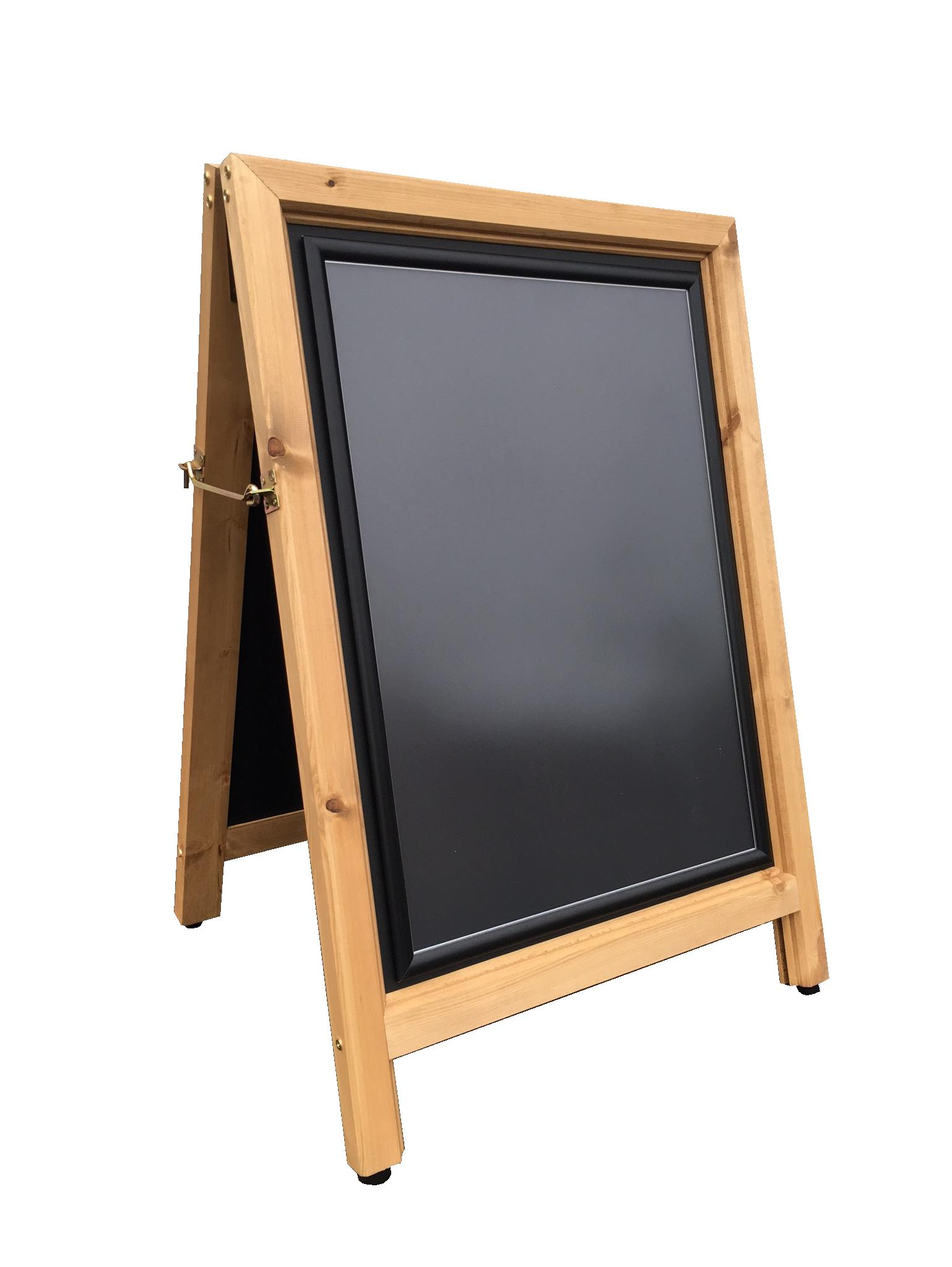 Aboard Chalkboard Snap Frame Poster Holder | Patterson Graphics
