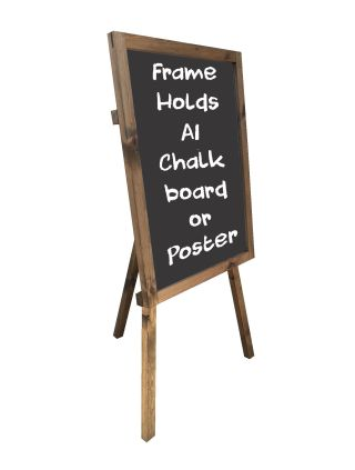 Easel Chalkboard Panel Poster Holder