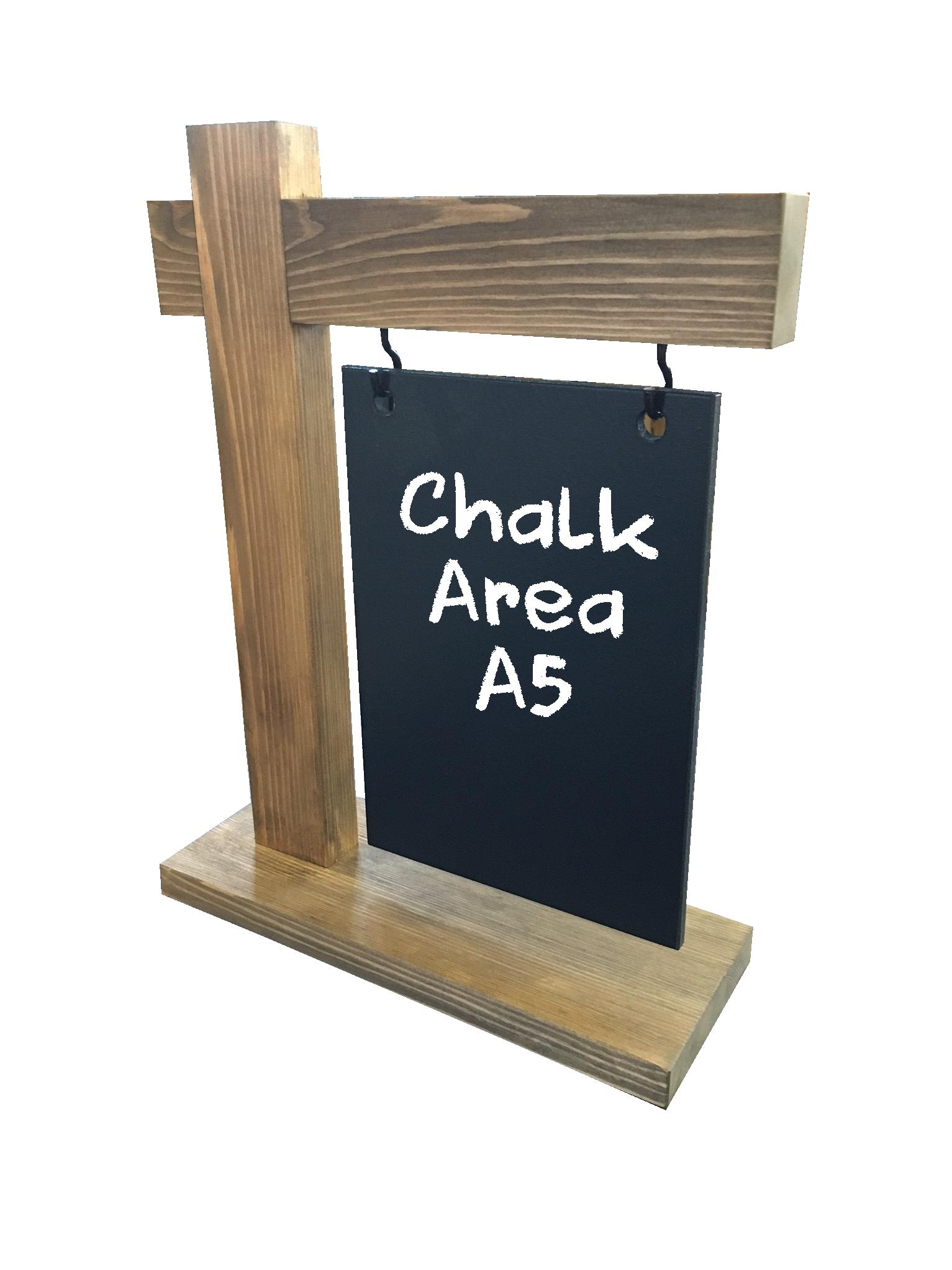 A5 Hanging Chalkboard