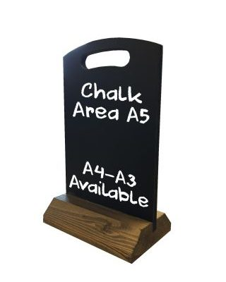 A5 Table Top Chalkboard