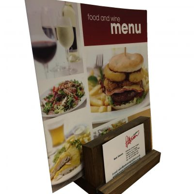 Angled Menu Holder type 2