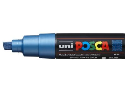 Uni Posca PC-8K Metallic Blue