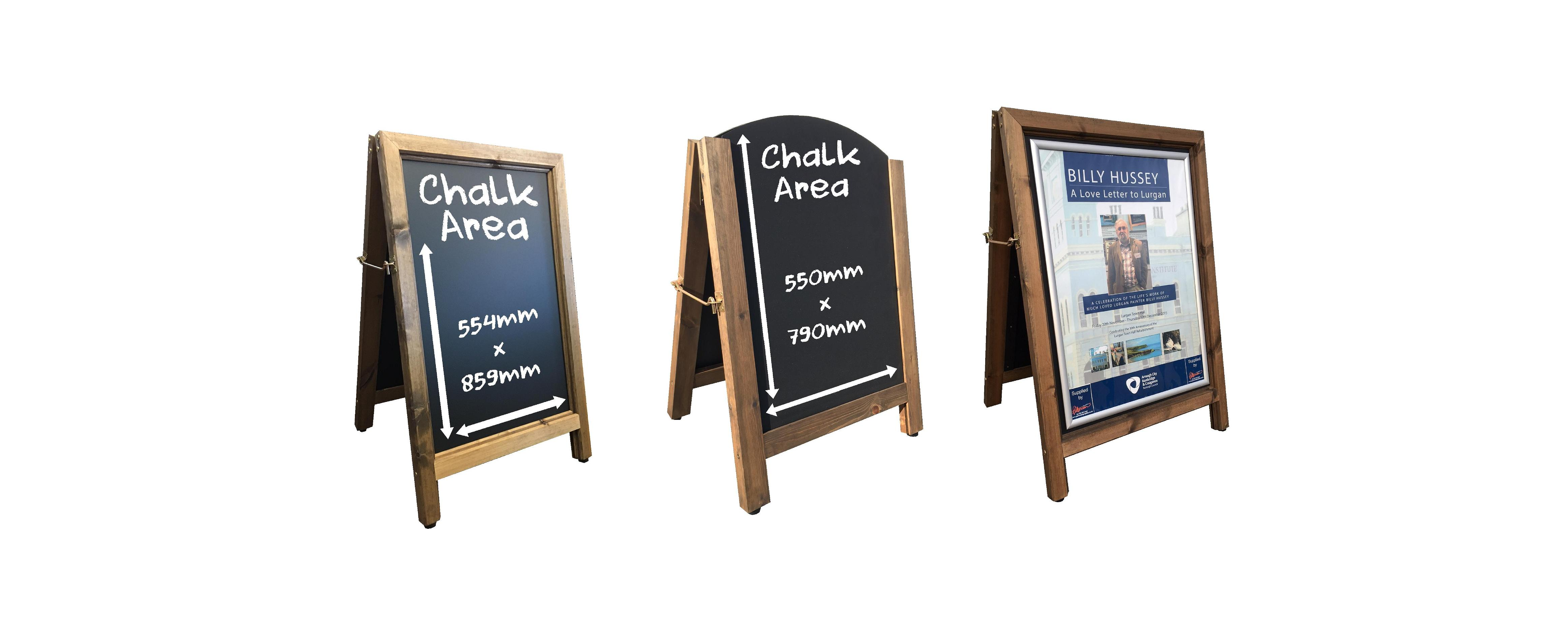 A Board Wooden Pavement Signs Archives - Chalkboard Products