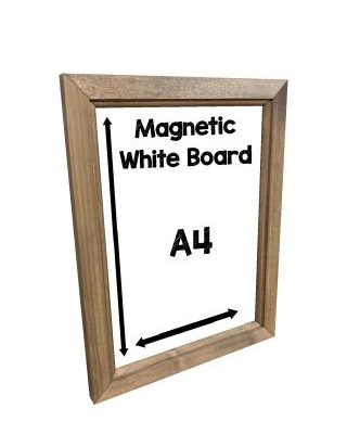magnetic whiteboard A4