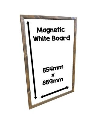 magnetic whiteboard standard