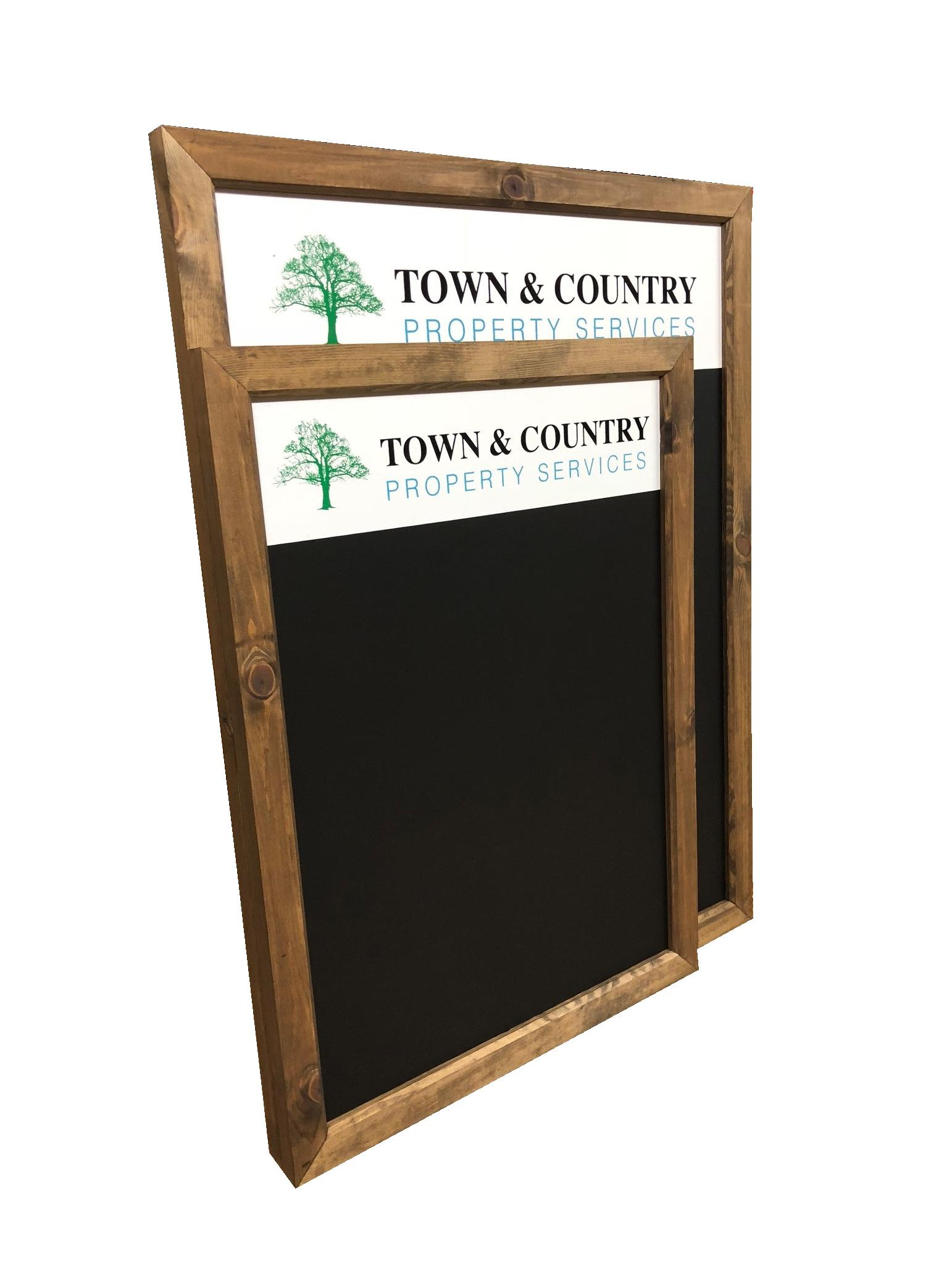 Bespoke Chalkboards for Town and Country