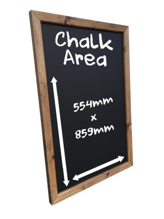 Framed Wallboard Chalkboard